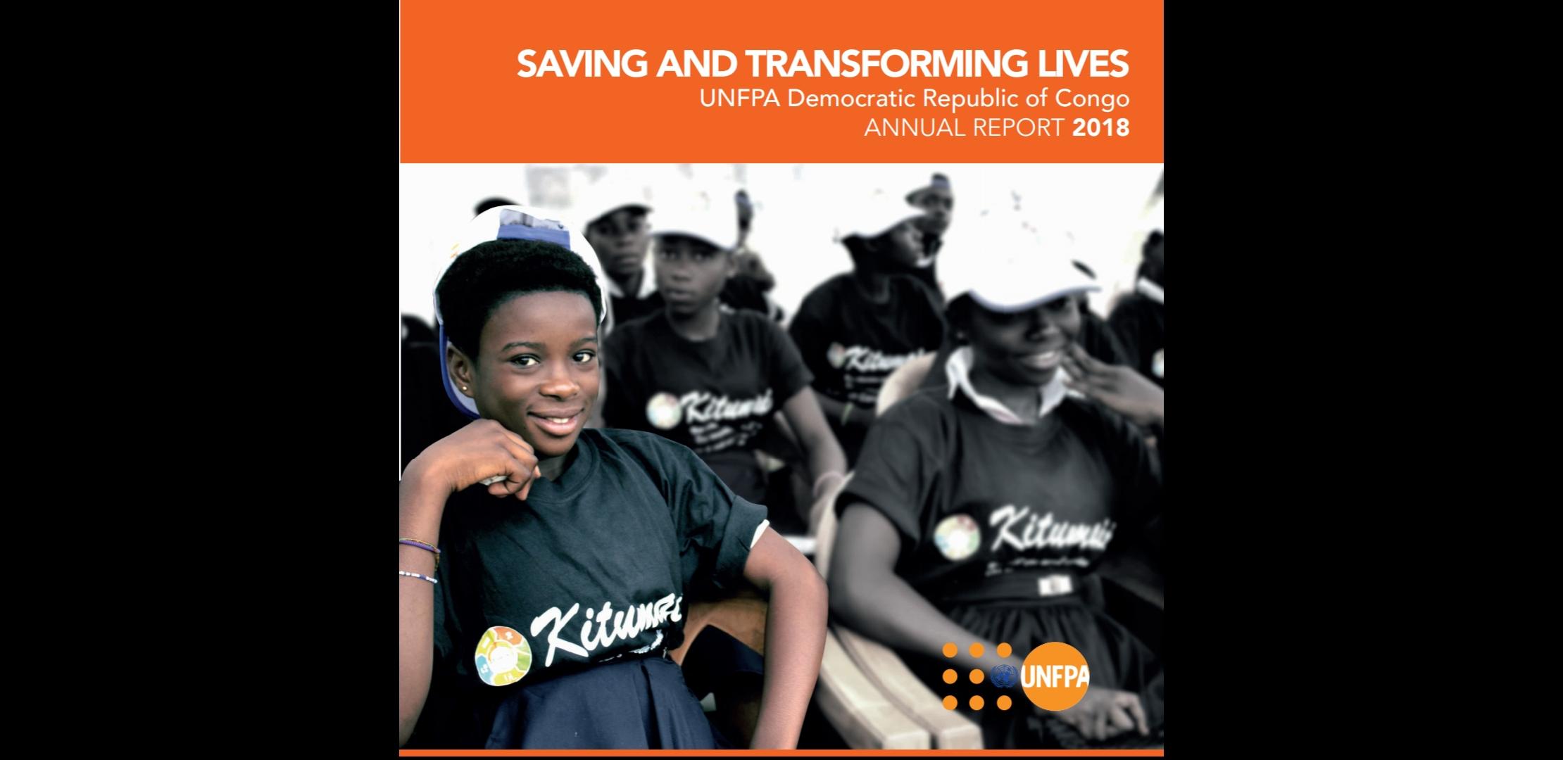 UNFPA DR Congo - Annual report 2018
