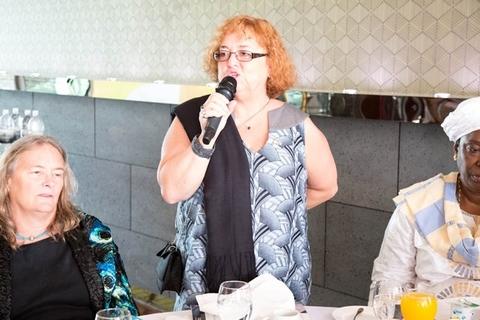 Mme Ginette MARTIN, Ambassadeur du Canada en RD Congo