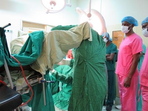 Reparation de cas de fistule obstétricale à l'Hopital Biamba Marie Mutombo à Kinshasa