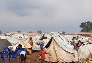 Site d'accueil des retournés d'Angola