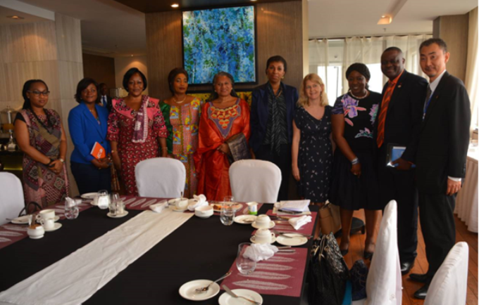 GBV high level Meeting in DR Congo