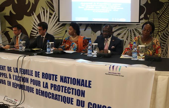 La Ministre du Genre, Enfant et Famille, UNFPA, ECHO et Canada lancent la feuille de route nationale à l'appel à l'action