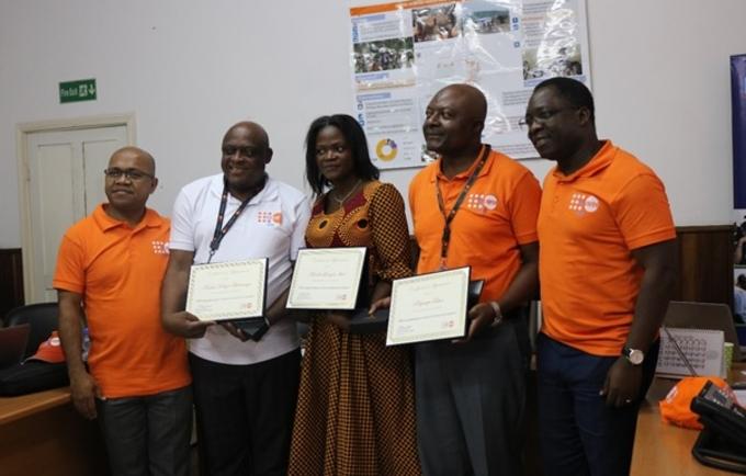 Le Bureau Pays de UNFPA en RD Congo, reconnait la performance de son Staff