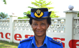 Chief Superintendent Françoise Munya Rugero - Champion for the fight against sexual violence in DRC.