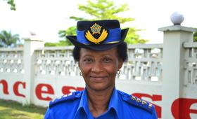 Commissaire Supérieur Principale Francoise MUNYA RUGERERO, Championne de la lutte contre les violences sexuelles en République Démocratique du Congo: