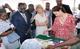 L'ambassadrice de bonne volonté de l'UNFPA, l'ambassadrice de Suède et le Représentant de UNFPA sensibilisés sur la PF